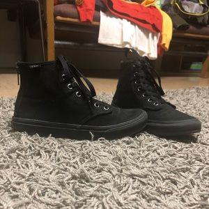 Black High Top Vans